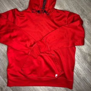 Fila sport red Athletic hoodie size large
